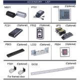 Cinco gama de interruptores para puerta automática programada