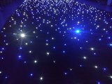 Wedding Backdrop를 위한 LED Star Curtain Blue와 White Light