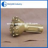 円形ボタンの低い空気圧DTHの穴あけ工具