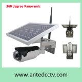 태양 가정 무선 옥외 감시 카메라 360 도 강화하는 파노라마