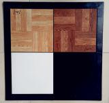 جديدة يصمّم يشتبك [دنس فلوور تيل] قرميد خشبيّة لأنّ بينيّة فينيل أرضية حصيرة