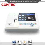 Electrocardiógrafo portátil da máquina de ECG com Certificado-Contec do Ce