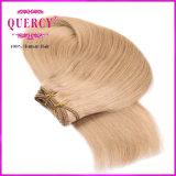 Venda por grosso de alta qualidade preço de fábrica 8 Grau loira 100% virgem brasileira de cor de cabelo humano