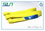 2017 imbracatura rotonda infinita di colore giallo 3t*5m con Ce/GS