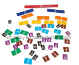 Frazione Tiles Set con Tray per Educational Toy (CB-ED005-Y)