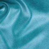 Alto cuero comercial artificial Abrasión-Resistente de los muebles del PVC para la tapicería del sofá