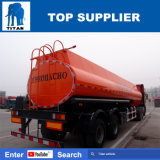 Titán semi-remolque del tanque del transporte del combustible diesel de 33000 litros