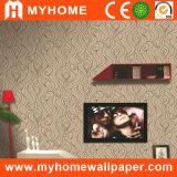 Papier peint de projet de PVC avec noir/blanc/rouge/bleu/couleurs de Gree