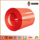 Formule de bobine d'aluminium pré-revêtue Ideabond