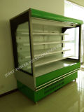 Refrigerador abierto del supermercado/refrigerador abierto de la Multi-Cubierta del supermercado