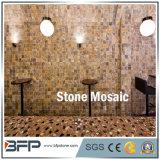 Mosaico pulido natural del patrón de mármol para la decoración interior