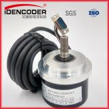 Diametro esterno 80mm, codificatore rotativo incrementale del diametro dell'asta cilindrica vuota del diametro 30 vuoti per controllo dell'elevatore