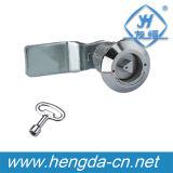 Fechamento da came do quarto de volta Yh9761 com chave