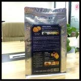ヒートシールの軽食のための開いた上のパッキング袋のアルミホイルのパッケージの袋の包装袋
