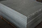Решетка стеклоткани отлитая в форму FRP с Gritted поверхностью