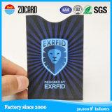 카드 홀더를 막는 주문 알루미늄 호일 지능적인 여권 RFID