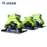 版のコンパクター、油圧コンパクターの版、掘削機のコンパクター