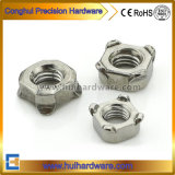 Noci della saldatura dell'acciaio inossidabile A2-70 con il fornitore Nuts saldato alta qualità