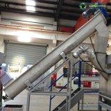 Plástico de la basura del desecho de PE/PP que recicla lavarse y gránulo que hace la máquina