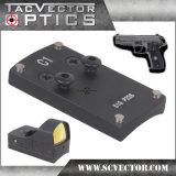 선그림 광학 가득 차있는 금속 통신 Sauer P226 전자총 Accessries를 위한 전술상 소형 마이크로 권총 범위 마운트 기초