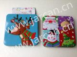 De Doos van het Tin van de Gift van Kerstmis, de Houder van de Kaart van de Gift van Kerstmis, het MiniBlik van het Tin van de Opslag