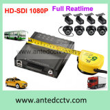 HD 1080P Mini 8 Channel Mobile DVR para veículos suporta 3G 4G HDD Backup