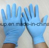Pulverisierte oder Puder-frei Wegwerfnitril-Handschuhe für die medizinische Prüfung
