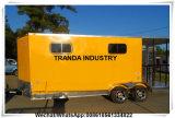 Nieuw Australië Mobiele Aanhangwagen van de Keuken van V van 2017 7 X 16 de Neus Ingesloten