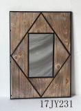Specchio Handmade di Anqique del metallo della decorazione della parete della Cina