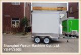 Reboque dobro do gelado de Van do gelado do caminhão do gelado do eixo de Ys-Fv250b
