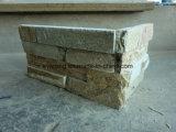 Folheado de Pedra Fina Natural Flooring Painel de pedra ardósia Pedra Empilhada