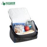 Настройка экономичного высокое качество полиэфирной треугольник Kooler обед сумки через плечо