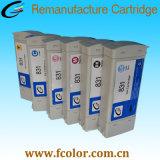 775ml HP831 유액 잉크 카트리지를 위한 Remanufactured 잉크 카트리지
