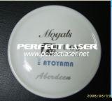 Macchina industriale 20W dell'indicatore dell'autoadesivo del metallo del laser della fibra