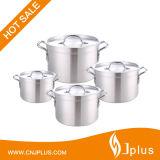 Olla de aluminio reforzado ollas de aluminio (JP-AL04)