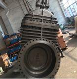Tamanho personalizado DN700 Pn16 Aço Carbono Marcha Acionada aparafusado válvula gaveta de cunha flexível de capô