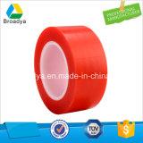 150 mic doble cara adhesiva cinta roja de la película de PET (6967LG)