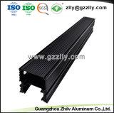 Het Zwarte Geanodiseerde Aluminium Heatsink van de fabriek voor de LEIDENE Wasmachine van de Muur