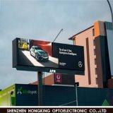 Alta tablilla de anuncios al aire libre de LED P10 del brillo 8000CD