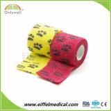 Atadura elástica coesiva não tecida para médico ou veterinário
