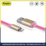習慣ユニバーサルデータ電光ケーブルUSBの携帯電話の充電器