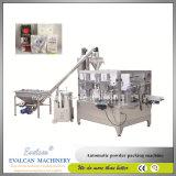 Polvo Doypack rotativa automática máquina de envasado de llenado