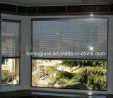 Blinds+Glass, Fenster u. Tür Isolierglas mit Vorhängen nach innen