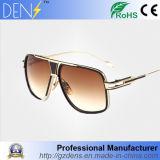 Lunettes de soleil neuves d'aviateur de lunetterie en métal de cru de sport d'Arrrival pour les hommes