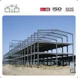 多様性デザイン中国からのプレハブの鉄骨構造の倉庫