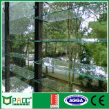 La rejilla de aluminio ventanas de vidrio con2047