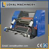 Automate programmable haute vitesse papier Art Jumbo refendage et de rembobinage de la machine