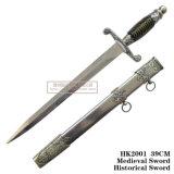 Европейский Dagger Западной исторической Dagger дома оформление 39см HK2001