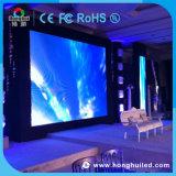 Actualización de alta a todo color P4, pantalla LED de interior