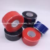 Großhandelssite-schrumpfverpackung-Silikon-Gummi, der Selbst-Befolgtes Band isoliert